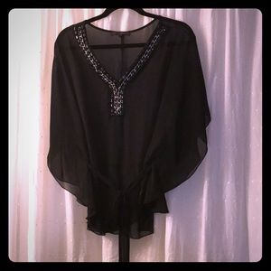 🎉Sheer Tunic Style Blouse 🎉